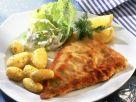 Panierter Fisch mit Kartoffeln Rezept